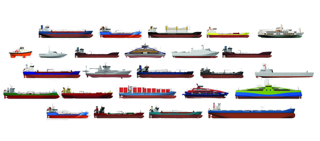 17 Years | 150 Projects | 260 Ships