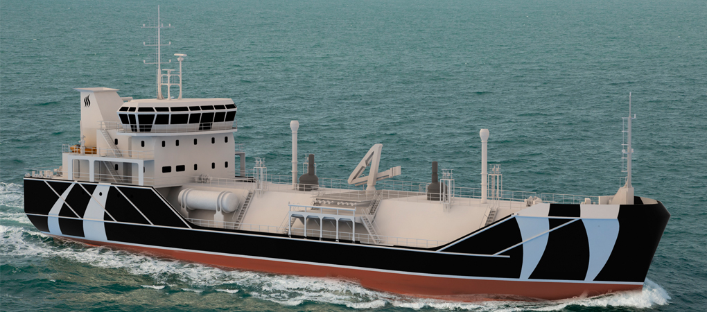 Revolutionary design for LNG Bunkering