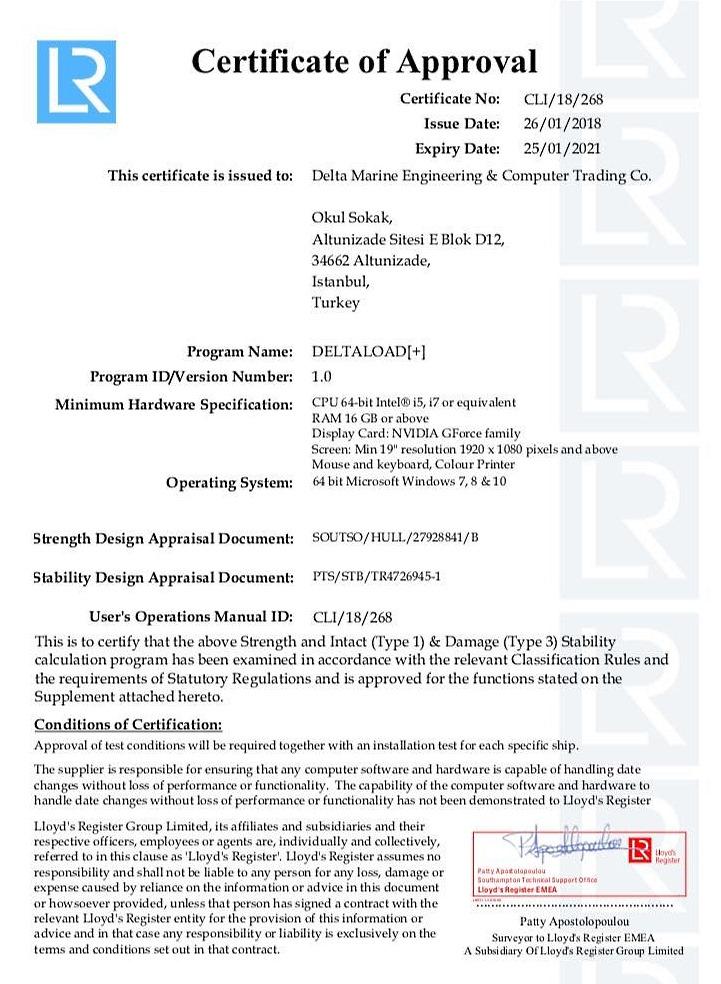 Delta Marine News From The Company